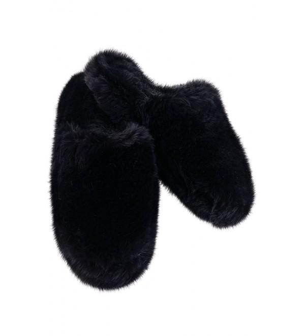 18173fb615cc5 Women's Fuzzy Wuzzies Slippers - Black - CQ115EC770H