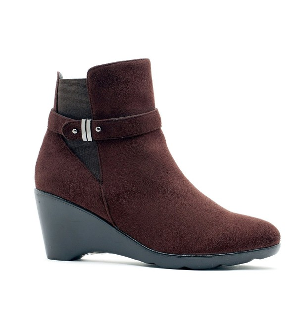 Shoes Womens Veronica Round Booties