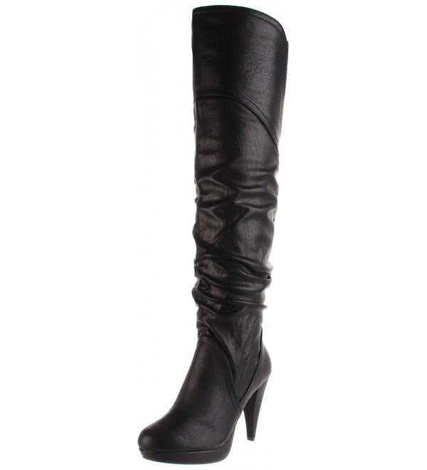 Womens Ashmore Platform Boot Black