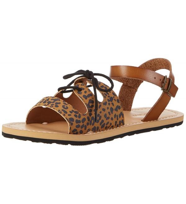 Volcom Womens Gladiator Sandal Cheetah