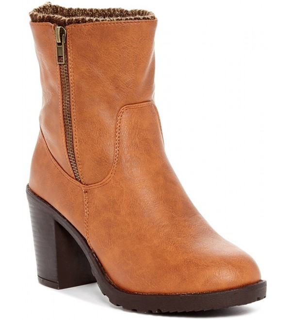 Carrini Collection Fashion Knitting Lined Booties