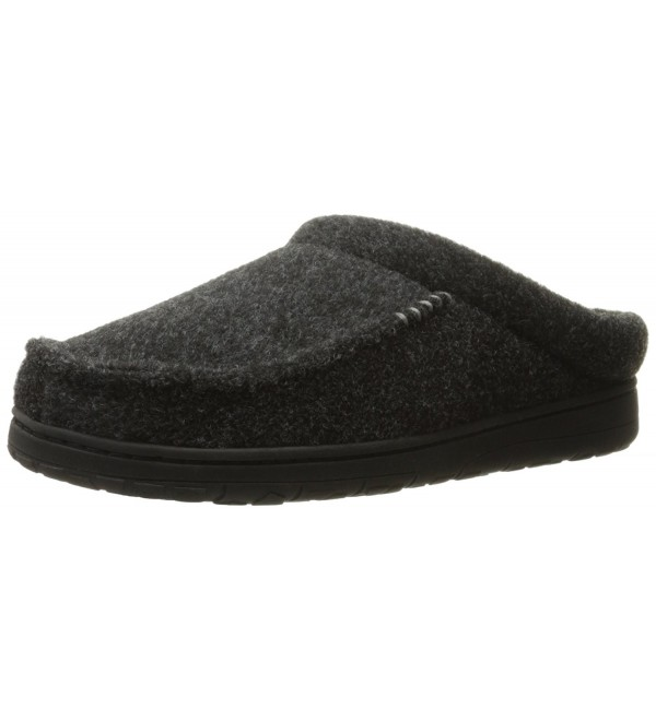 Dearfoams Slippers Black Medium 9 10