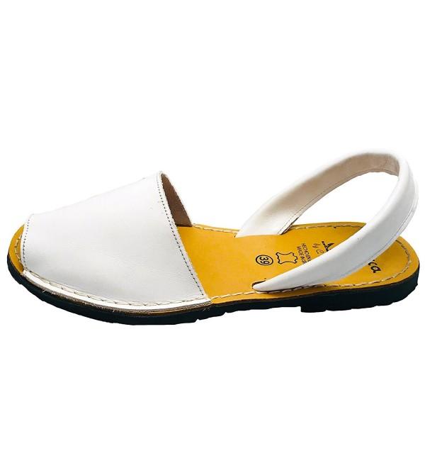 Premium Avarcas Sandals Women White