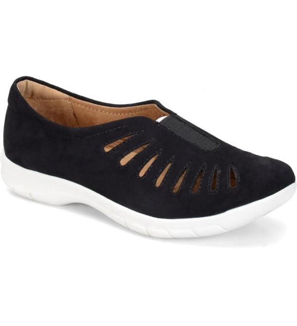 Comfortiva Beck Leather Wedge Sandal
