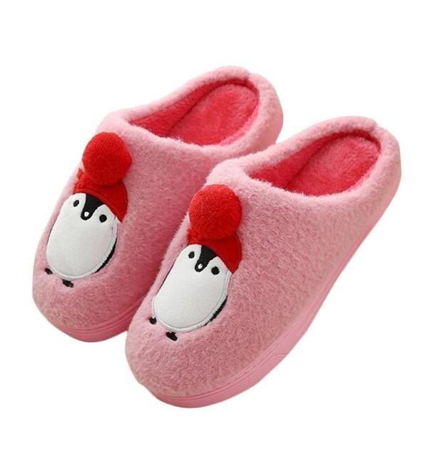 JadeRich Unisex Penguin Pattern Slippers
