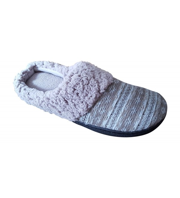 DearFoams Womens Slipper X Large Heather