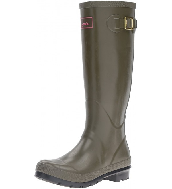 Joules Womens Field Welly Woodland