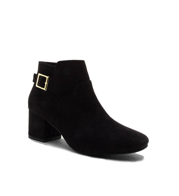 Qupid Womens Ankle Buckle Wenona 03