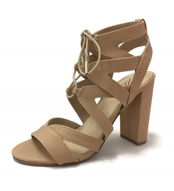 Delicious Womens Gladiator Sandal Natural