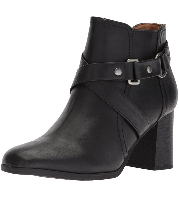 Natural Soul Womens Ankle Black