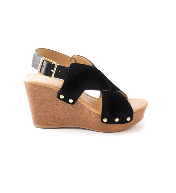 City Classified Womens Thick Platform