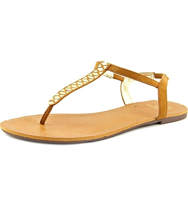 Material Girl Slingback Sandals Chestnut