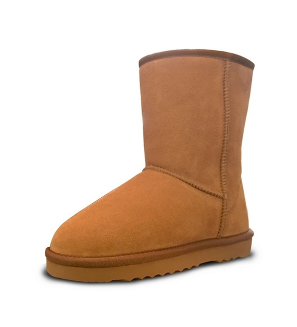 Womens Leather Fully Classic Winter