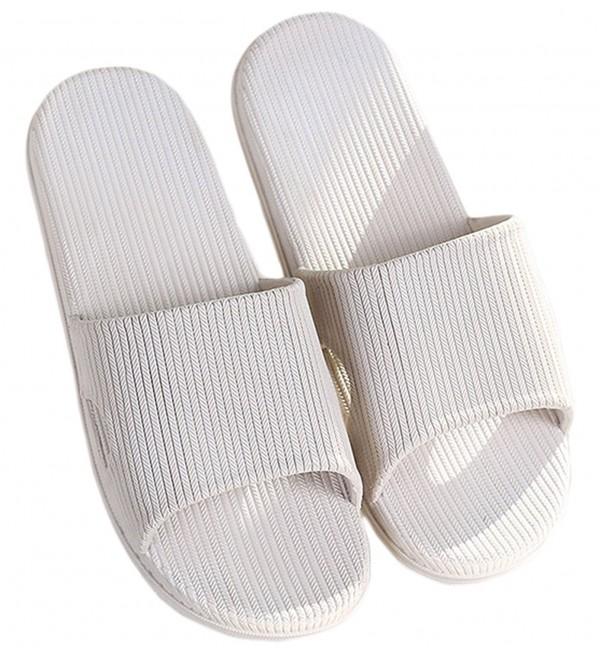 Knolee Unisex Slip Resistant Slippers White7 7 5