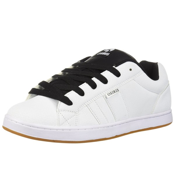 Osiris Mens Skate White Black