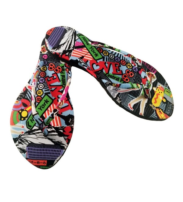 Chose Chic Kawaii Flops Multicolor
