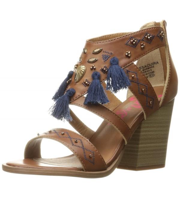 Jellypop Womens Essaouira Heeled Sandal