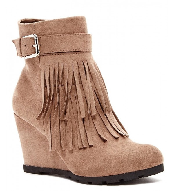 Bucco lucienne Fashion Fringed Booties