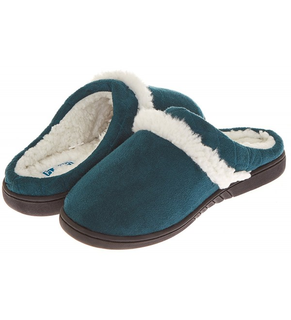 Floopi Womens Outdoor Slipper T Green 308