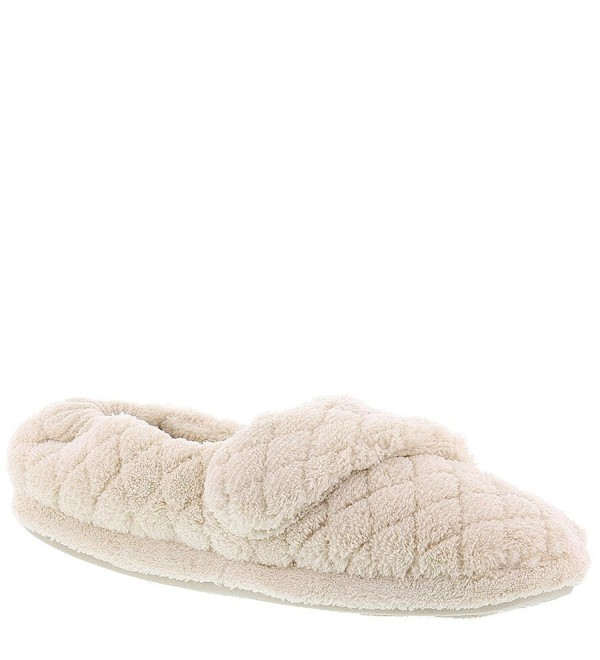 Acorn Womens Quilted Slipper Natural