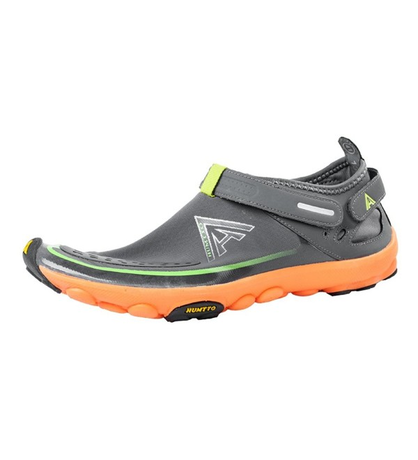 ae36f990e543 ... Water Shoes Man and Women Swim Walking Lake Beach Boating Shoes -  1327 2327 Gray - CB1805ZA78W. On sale! New. HUMTTO Unisex Athletic Walking  Boating