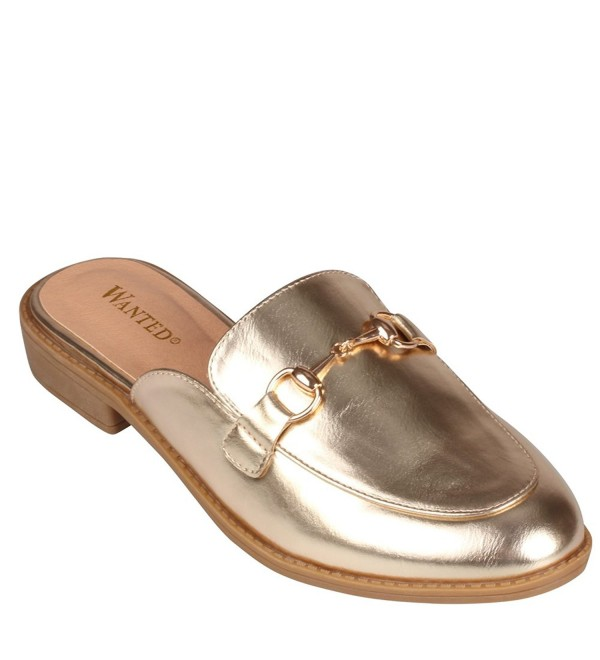 Wanted Cavallo Slip Loafers Gold
