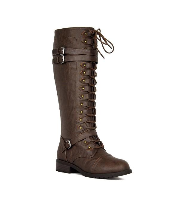 a529e7133d7 Womens Riding Buckles Winter Combat. . Womens Riding Buckles Winter Combat   Knee-High Boots for Sale  Fashion ...