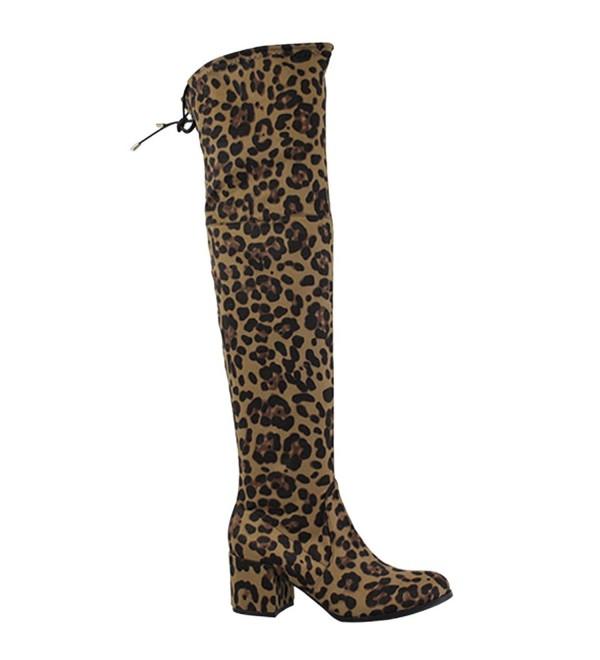 FL63 Womens Drawstring Block Boots