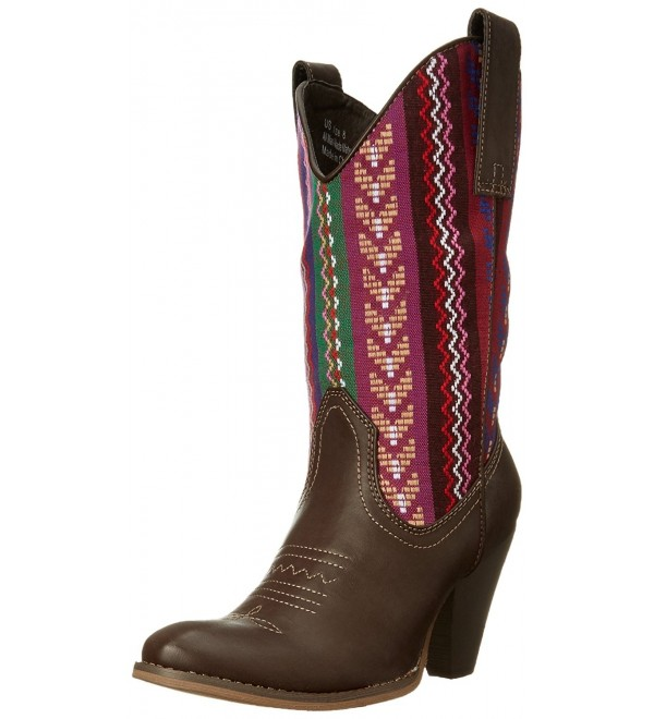 Spite Womens Silverwood Western Brown