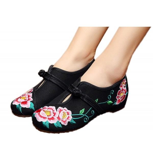 AvaCostume Womens Chinese Embroidery Walking