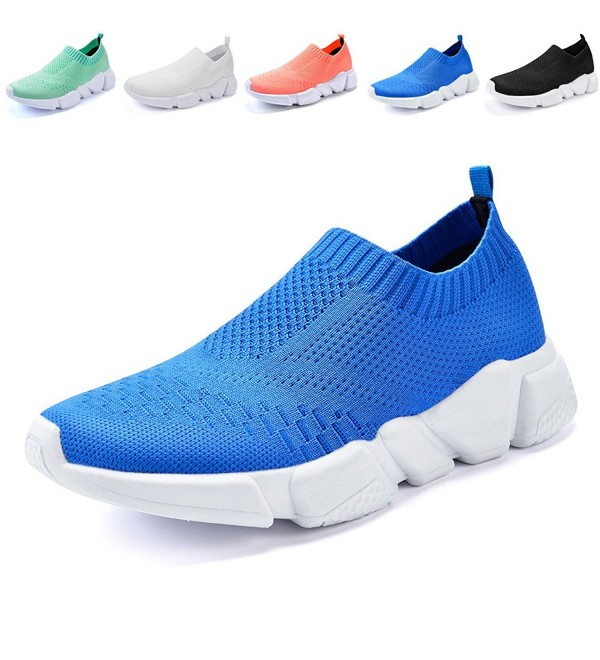QANSI Classic Flyknit Athletic Sneakers