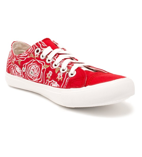 Flower Tennis Floral Stylish Sneakers