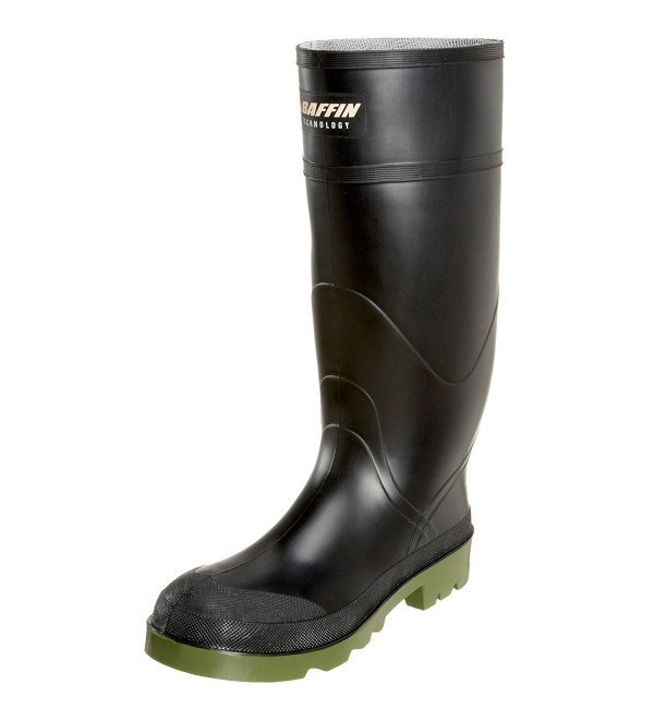 Baffin Mens Petrolia Black Green