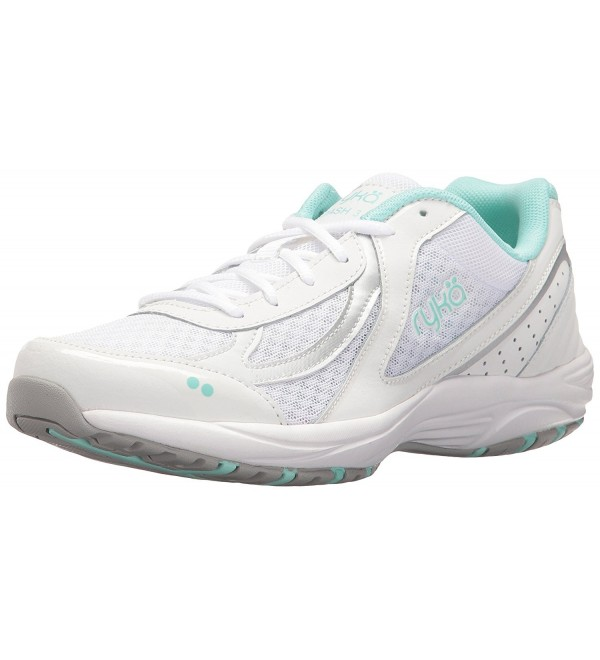 RYKA Womens Walking White Silver