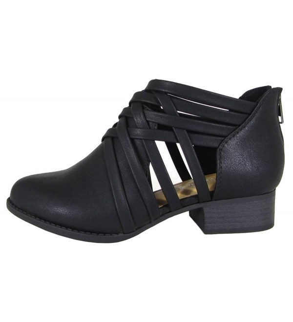 City Classified Womens Strappy Stacked