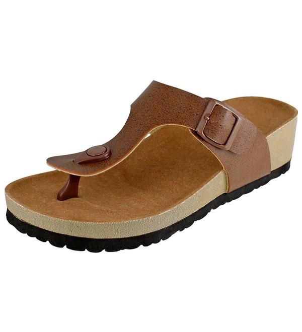 Cambridge Select Womens Thong Sandal
