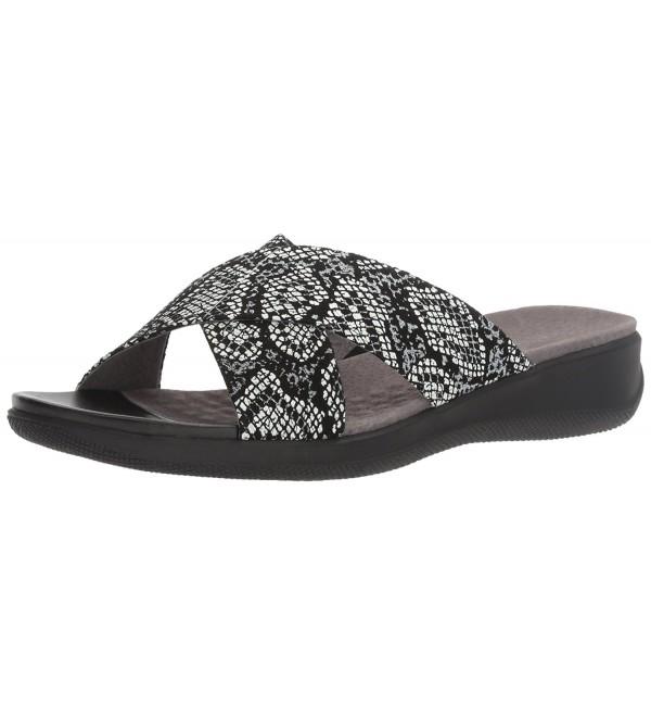 SoftWalk Womens Tillman Slide Sandal