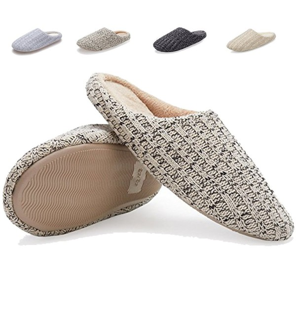 Indoor Slippers Cotton Knitted Anti slip