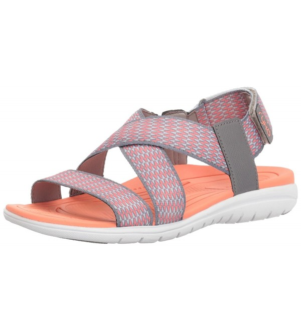 Womens Belmar Athletic Sandal Coral