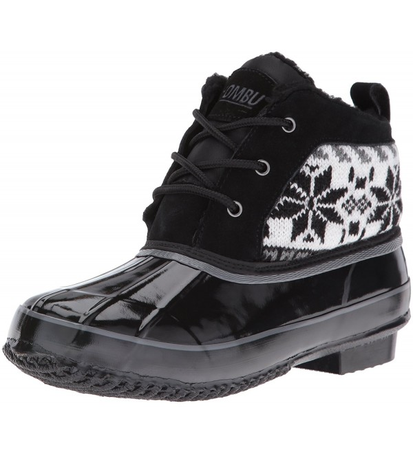 Khombu Womens Jazzy Snow Black