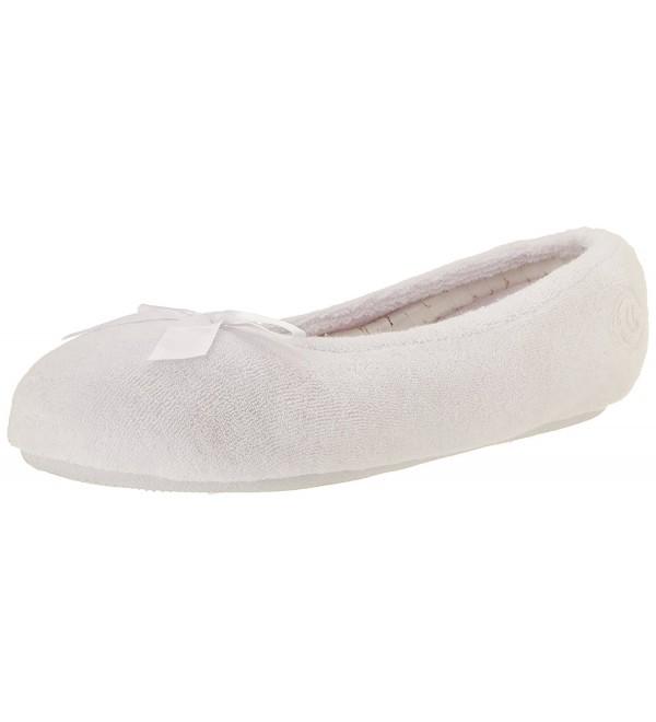 Isotoner Classic Microterry Ballerina Slipper