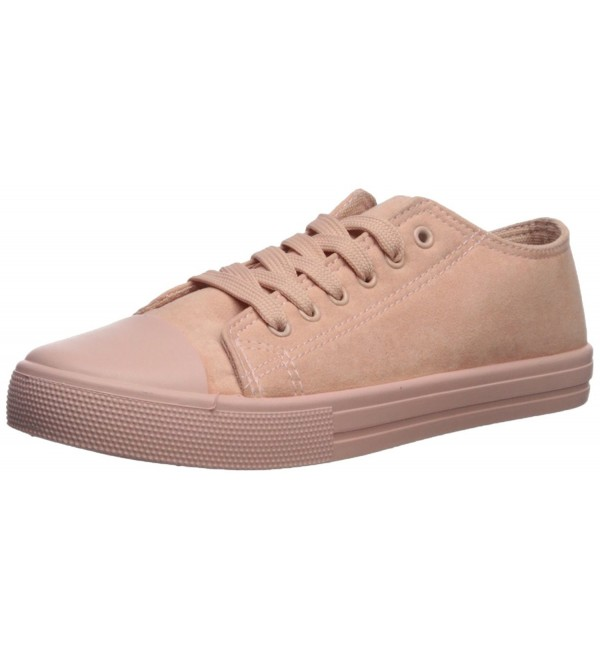 Qupid Womens Narnia 10 Sneaker Blush
