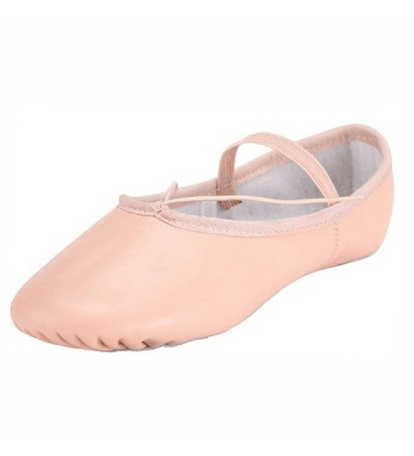 Adult Split Leather Ballet Slipper