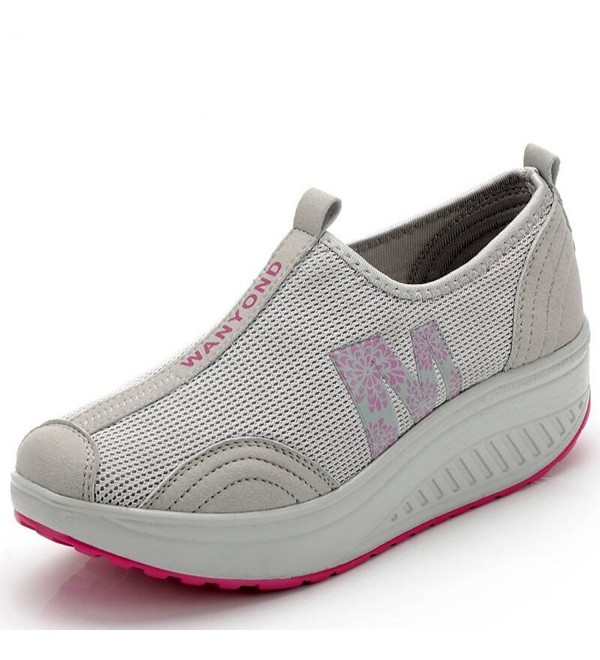 Mljsh Womens Platform Fitness Sneaker