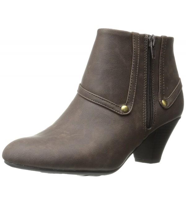 LifeStride Womens Genuine Boot Brown