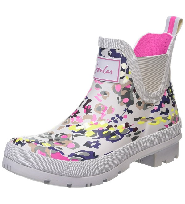 Joules Womens Wellibob Silver Scatter