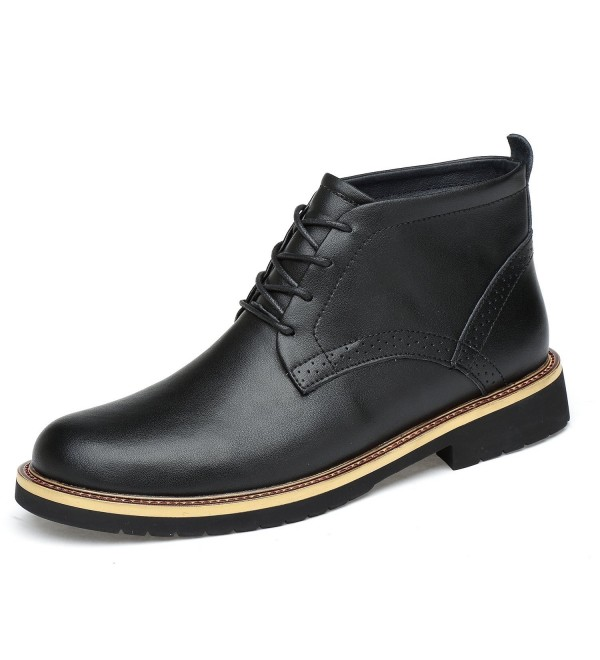 LessMore Leather Classic Ankle Chukka
