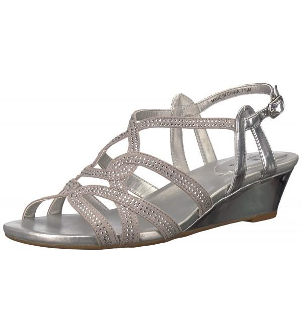 Bandolino Womens Galtelli Sandal Silver
