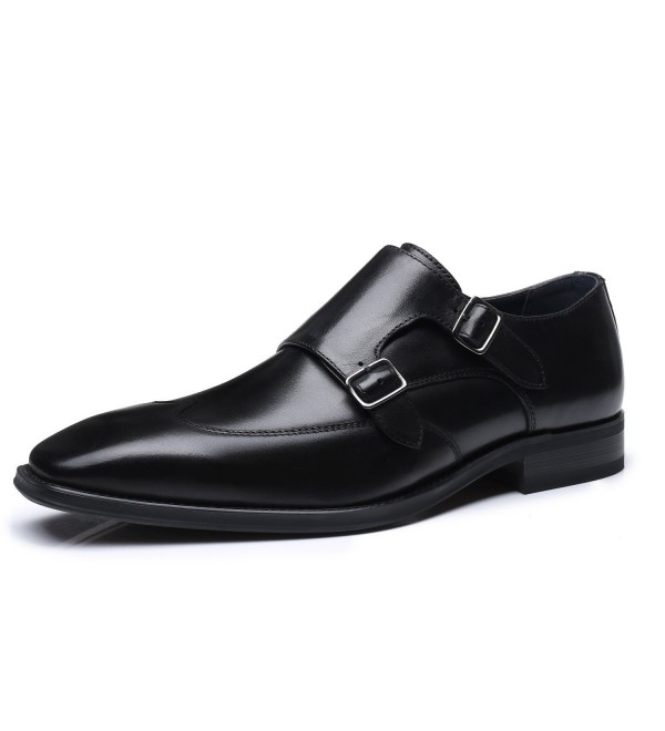 Milano Leather Business Comfortable Wing 1 black