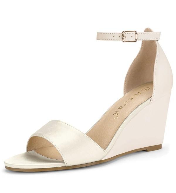 Allegra Womens Ankle Straps Sandals